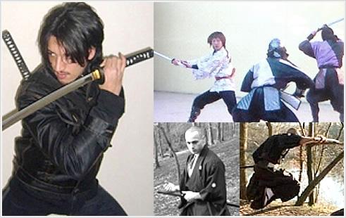 剣や武器を使った立ち回り(殺陣の運足と体捌き) - THE SCUFFLE USING A SWORD -のイメージ